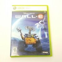 Disney Pixar WALL-E Xbox 360 Kids Game Rare Collectible CIB The Robot Free Ship