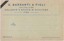PISA - GALLERIE E STUDIO DI SCULTURA - G.BARSANTI & FIGLI
