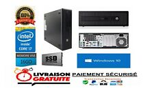 HP i7-4770 16Go 256Go SSD WINDOWS 10 ( QUANTITÉ LIMITÉE )