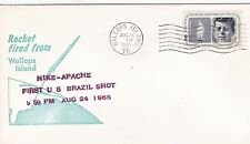 United States 1965 Nike Apache Rocket Launched 25th Aug FDC Unadressed VGC D