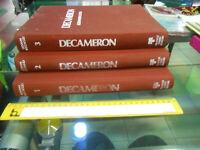 LIBRO:Decameron Il Decamerone 3 volumi Giovanni Boccaccio Fabbri Editori 1977 Sa