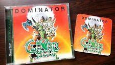 Cloven Hoof - Dominator  + 3 Bonus tracks  ( CD) 2017 . From Brazil. + free gift