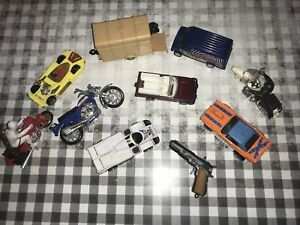 Job Lot Vintage Toy Cars Motorbikes Matchbox Corgi