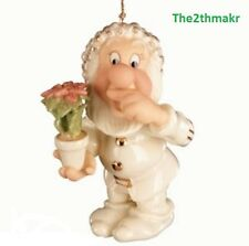 Lenox Disney Snow White A Sneezy Sort of Christmas Holiday Ornament  NEW IN BOX