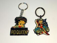 BETTY BOOP KEY CHAINS LOT #02 TWO PIECE SET