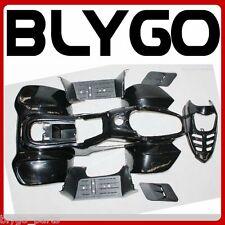 BLACK Plastics Fairing Fender Guards Cover Kit 50cc 70 110cc Quad Dirt Bike ATV