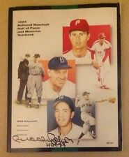 Brooks Robinson Autograph 1994 National Baseball Hall Of Fame Yearbook HOF 83