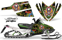 Snowmobile Graphics Kit Decal Sticker Wrap For Arctic Cat M Series EDHP BLACK
