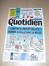 MON QUOTIDIEN n°4919 mars 2013