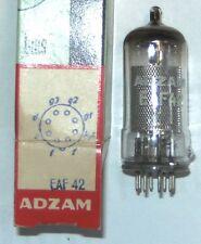 EAF42 electronic tube (équivalent  6CT7 = WD150 = EAF113) ADZAM