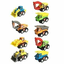 Non Toxic Child Learning Skill Construction Vehicles Pull Back Toy Car Model Kit