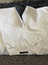 Ladies trousers Billabong size 16 chinos cargo cream wide leg good condition