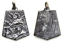 Medaglia Alpini Verso La Meta - Meana Metallo Argentato cm 3.5 x 3,8 g. 21,1