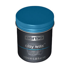 Clay Wax OSMO Styling Hair Matte Finish Clay Based Styler 100ml Men Hairdressing