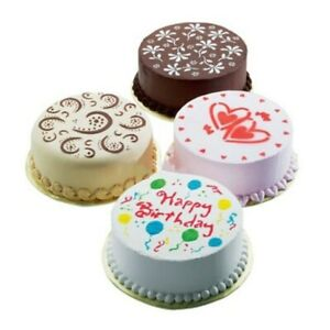 Different Kinds of Pack of 4 Pcs Variety Cake Cupcake DIY Stencil Mold