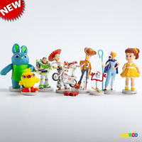 New Loose Disney Toy Story 4 Deluxe 9 Figurine Figure Cake Topper PlaySet