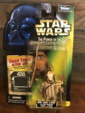 Kenner Star Wars Power of the Force Ewoks Wicket Logray Freeze Frame Slide 1997