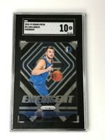 LUKA DONCIC 2018-19 PRIZM EMERGENT #3 RC SGC 10 Tougher than PSA, for Sure!