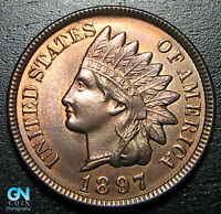1897 Indian Head Cent Penny  --  MAKE US AN OFFER!  #P9515