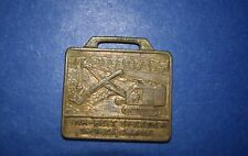 AX-006 - Link-Belt Speeder Shovel Crane Advertising Pocket Watch Fob Vintage