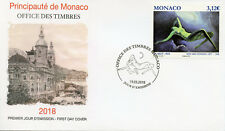 Monaco 2018 FDC Nude in Art Kees Van Dongen 1v Set Cover Nudes Paintings Stamps