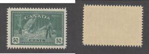 MNH Canada 50 Cent Logging Stamp #272 (Lot #20655)