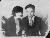 Charlie Chaplin and Pola Negri - 8x10 photo