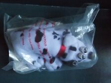 Pound Puppies Mini Spotted Puppy Plush Sealed Vintage 1986 Black & White Color