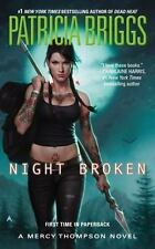 Night Broken by Patricia Briggs New Mercy Thompson Series Paperback - Free Ship