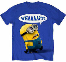 Authentic Despicable Me Whaaaa! Minion Creature Movie T Tee Shirt Adult S