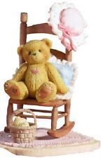 CHERISHED TEDDIES  CELIA - Girl Bear In Rocking chair - Long Retired