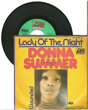 """Donna Summer, Lady of the night, G/VG, 7"""" Single, 9-1824"""