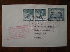 LUFTHANSA FFC 685, 1966 CHILE JAMAICA Santiago Lima Montego Bay Frankfurt LH 493