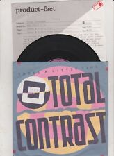Total Contrast Takes A Little Time Vinyl Single 7inch London Records