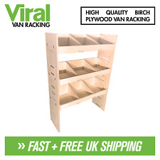 Nissan NV200 Van Racking 3-Shelf Plywood Racking & Shelving Unit 750 X 269mm