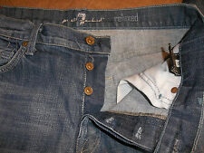7 FOR ALL MANKIND JEANS RELAX RELAXED BUTTON FLY MEN'S 32 31 7655