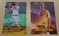 2018/19 David Sutherland Baseball Cards - Brisbane Bandits (Aussie Baseball)