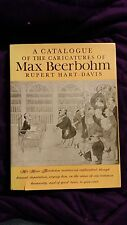 Catalogue Of Caricatures Of Max Beerbohm Rupert Hart-Davis 1972 HCDJ 1st Edition