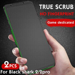 2PCS Xiaomi Black Shark 2 3 Pro Anti Blue Matte Tempered Glass Screen Protector