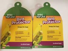 2 Pack Wild Harvest 8-in-1 Bird Protector Protect Your Birds Cages Lice & Mites