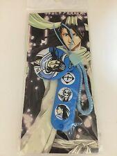 BLEACH Byakuya Kuchiki Toshiro Hitsugaya Blue Puffy Phone Strap Set Rare