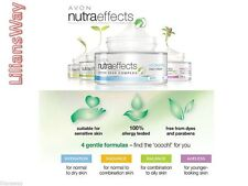 AVON NUTRAEFFECTS PARABEN FREE SKIN CARE RANGE~DAY & NIGHT CREAMS~CLEANSERS