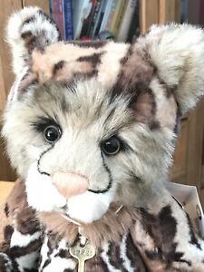 Charlie Bears Annuska Clouded Leopard