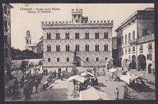GENOVA CHIAVARI 125 PALAZZO DI GIUSTIZIA Cartolina viaggiata 1913