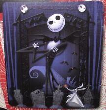 New The Nightmare Before Christmas GIFT Plush Throw Blanket Jack Skellington NWT