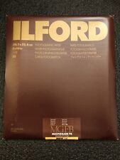 "ILford MGFB Multigrade FB Warmtone Photographic Paper 8x10"" Semi Matt 20 Sheets"