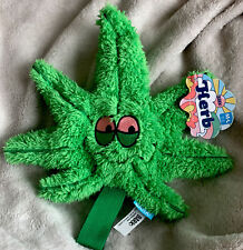 """Bark Box GreHerb Big Pot Leaf M-Lg Dog Toy Approximately 8x10""""inch's New Collect"""
