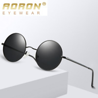 Men Women Polarized Sunglasses Round Retro Outdoor Driving Party Glasses New
