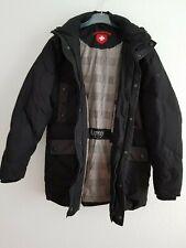 Wellensteyn Herren Winter Mantel Daunen Jacke Asprey schwarz Größe L