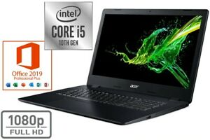 """ACER A317 - CORE i5 - BIS 32GB RAM 2000GB SSD - OFFICE 2019 PRO - 17.3"""" FULL HD"""